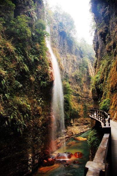 恩施大峡谷摄影攻略,大峡谷摄影点介绍大全