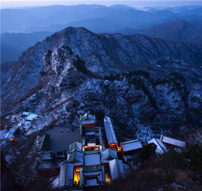 武当山冬雪摄影攻略